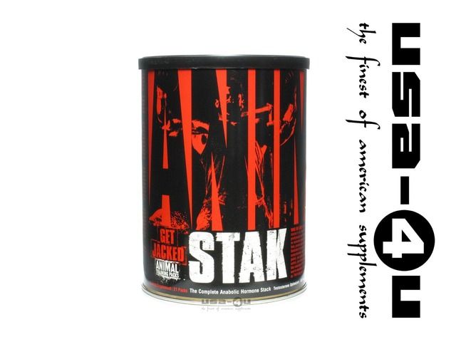 Animal Stak Universal Nutrition 21 Paks